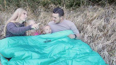 Photo of Teton Sleeping Bag Review – Mammoth Queen Size Double